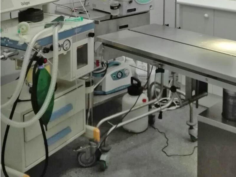 Anestesia inhalatoria y equipos de monitorización constante